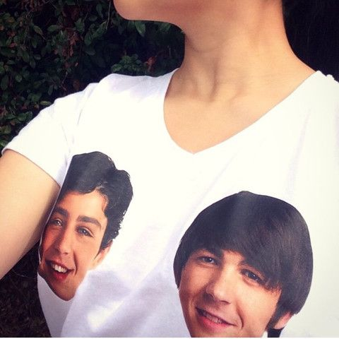 Drake and Josh White T shirt – Fresh-tops.com