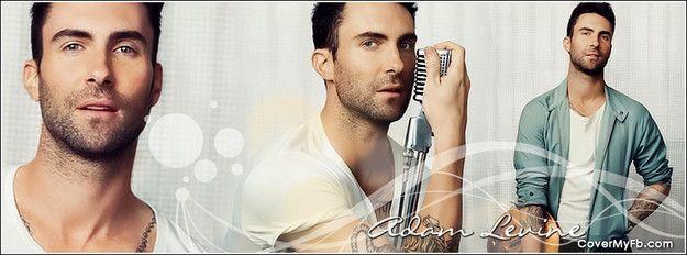 Adam Levine - Maroon 5 Facebook Cover