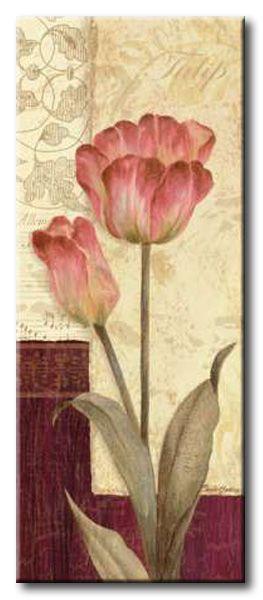 GlA_490_Quattro Sonata I / Cuadro Flores, Flor Vintage