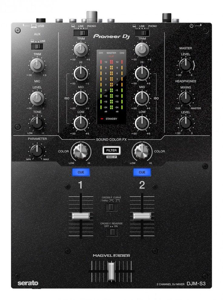 Pioneer DJ 发布两款Serato 新产品DDJ-SR2 控制和DJM-S3 混音台 - MIDI爱好者