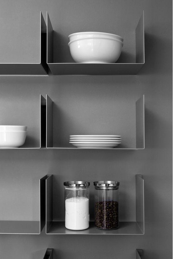 shelving and crockery | Adam Christopher flower pots