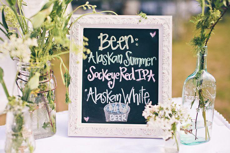 Alaska beer wedding list