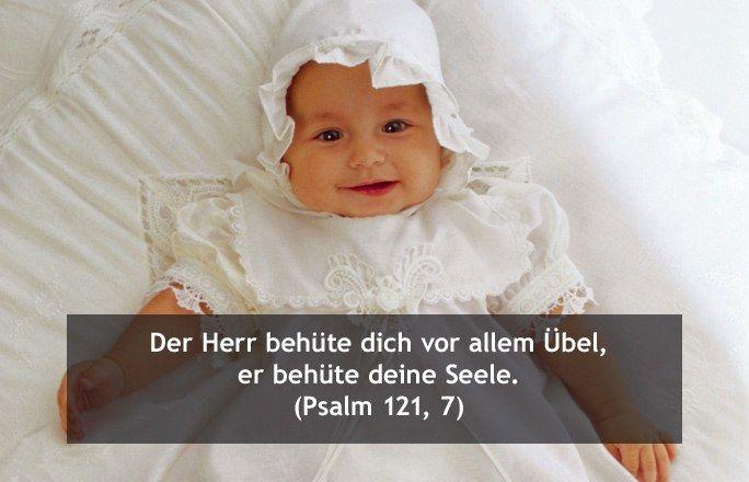 Taufsprüche aus der Bibel