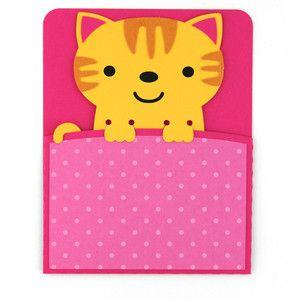 Силуэт Дизайн магазина - Просмотр Дизайн # 134444: a2 кошка карманные карты