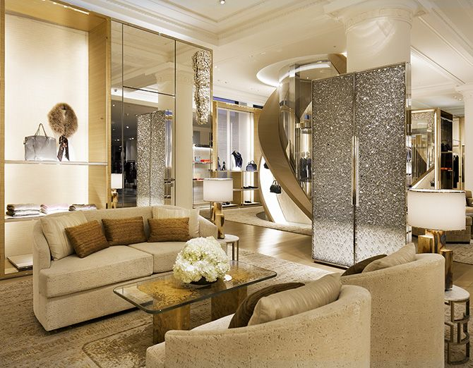 LV_Townhouse 2nd floor. would be awesome living room with glitter elevator doors