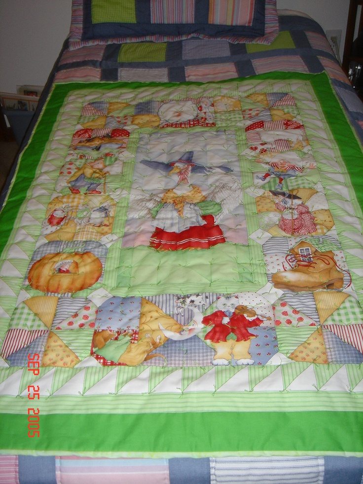 Baby Quilt From A Panel Quilts Pinterest