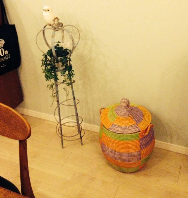ゴミ箱 セネガル バスケットのインテリア実例 | RoomClip (ルームクリップ)