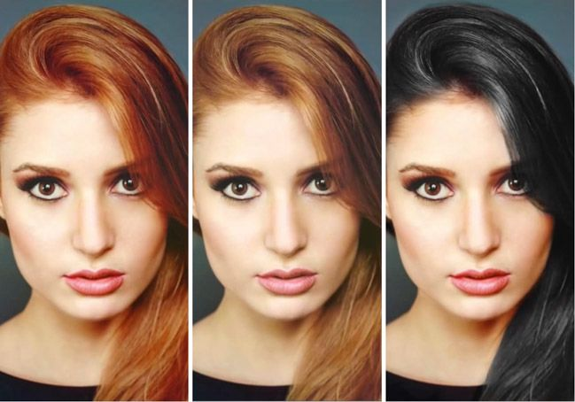 much more than How to Change Hair Color In Photoshop pinning so i can find the link later