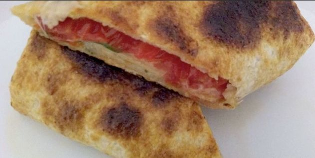 Corn bread wrap! Quick and easy snack. Check out our video~