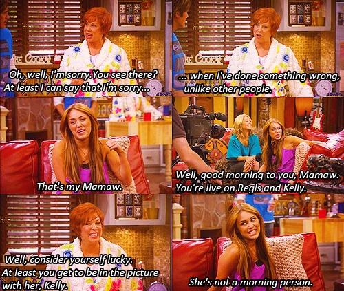 I will forever love Hannah Montana lol