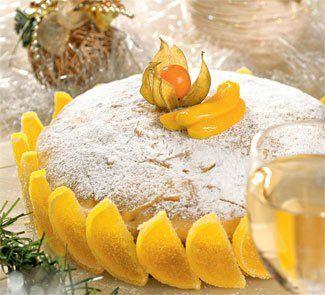 Новогодние десерты. Торт В Бананово-Лимонном Сингапуре