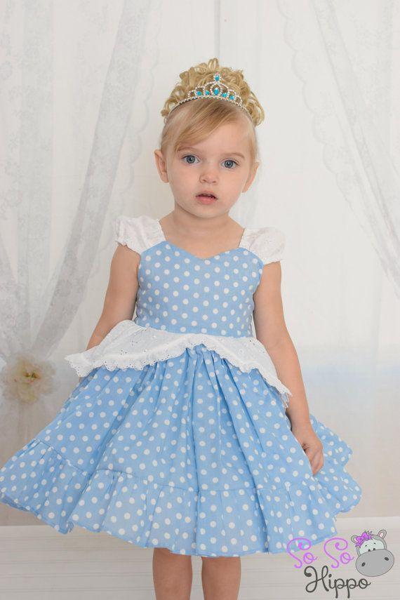 princess cinderella play dress by SoSoHippo on Etsy