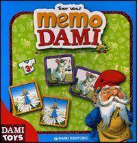 [есть сканы] DAMI TOYS Gioco Del Memo Della Dami Tony Wolf (Волшебный лес) 3+
