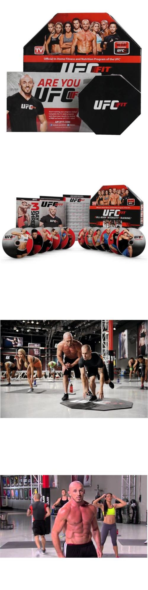 Fitness DVDs 109130: Ufc Fit Workout Dvd The Ultimate Weight Loss And Exercise Video Train Home Chop -> BUY IT NOW ONLY: $56.41 on eBay!
