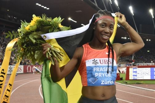 Shelly-Ann wins 100m and 4×100 in Switzerland - http://www.yardhype.com/shelly-ann-wins-100m-and-4x100-in-switzerland/