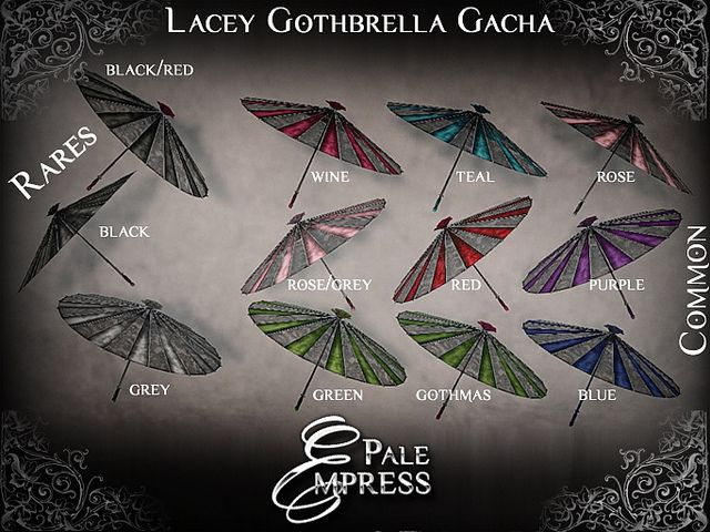 Gatcha - Pale Empress http://maps.secondlife.com/secondlife/Sium/85/40/1002
