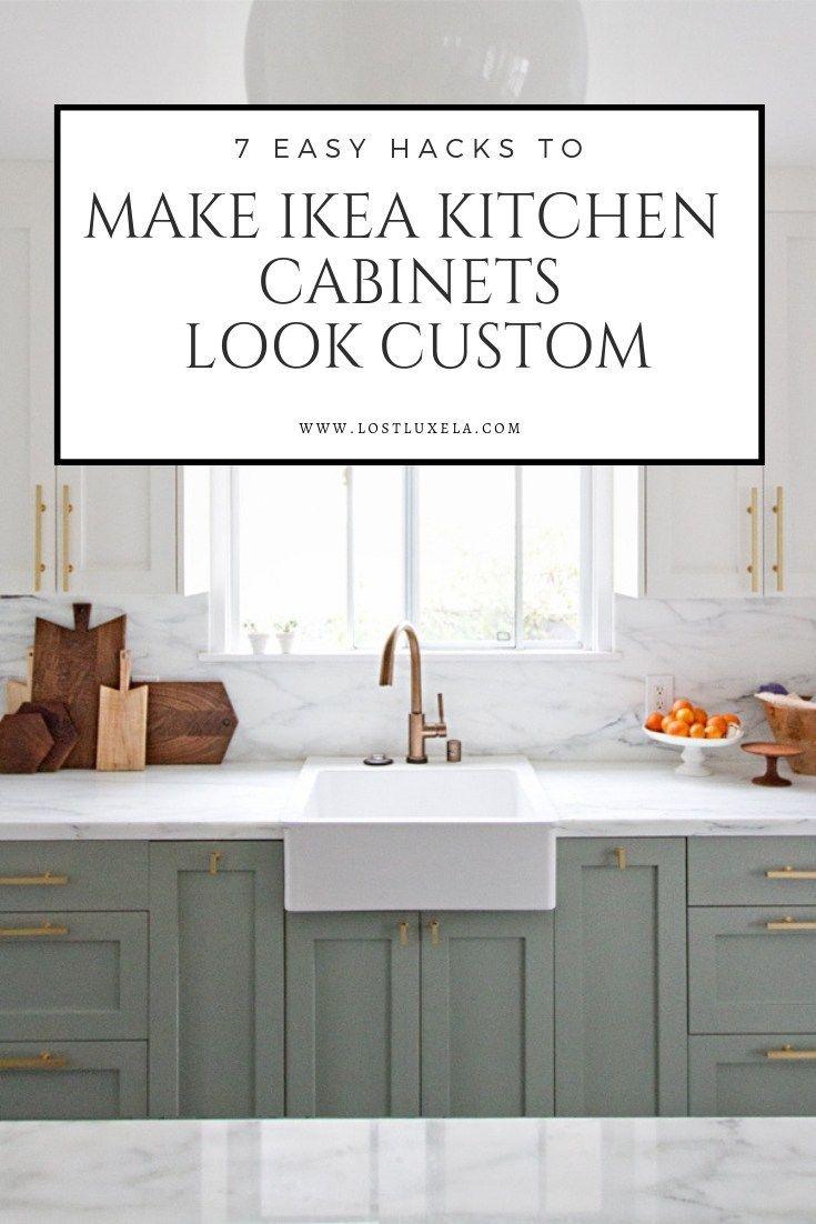 Best 7 Easy Ways To Make Ikea Kitchens Look Custom Ikea 400 x 300