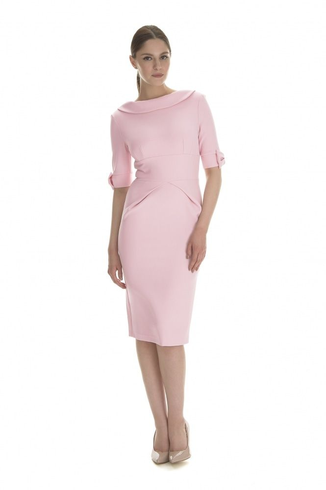 cb8ad41cc Hollywood Mid Sleeve Pencil Dress - £129 | Pink Dresses in 2019 ...
