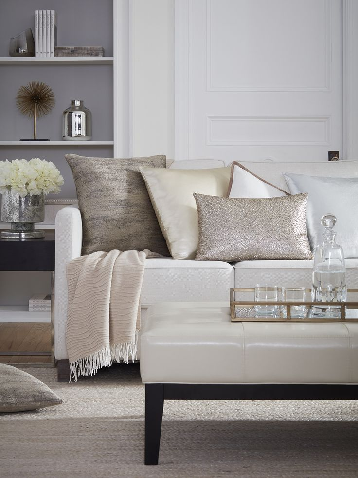 Decorate your home in our luxury bedroom and bathroom décor. Our selection of fine decorative pillows, throws, and towels will give your home an air of elegance that you can't get anywhere else. All of our luxury décor is made from choice materials to give you the highest quality home decor possible.