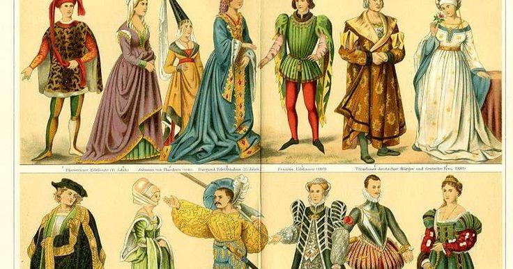 História da Moda - Idade Média       No início da Idade Média, isto é, na Alta Idade Média, as invasões bárbaras levaram ao isolamento e à v...