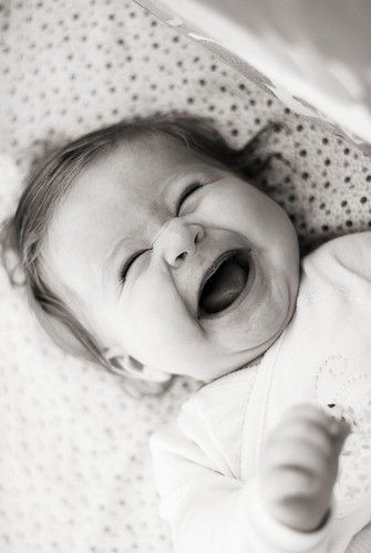 Laughter ... Just Adorable .. Can almost hear that deep little belly laugh :)