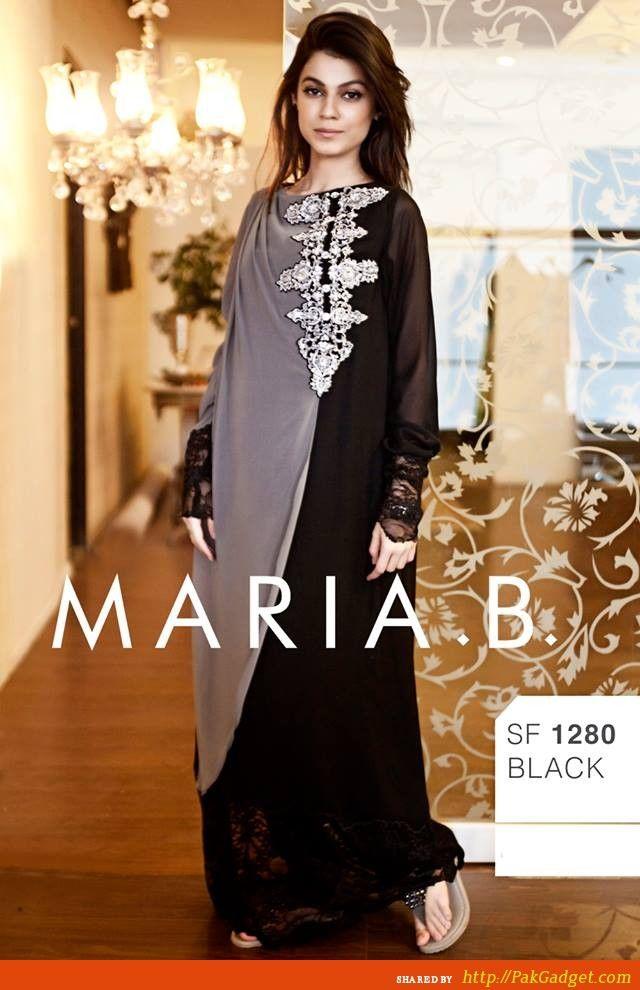 Maria B. 2013-2014 Ready to Wear Salwar Kameez - Gul Ahmed, Firdous Lawn, Sana Safinaz, Swiss Lawn