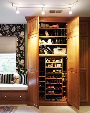 Обувной шкаф своими руками - чертежи с размерами и видеонструкция. Жми!