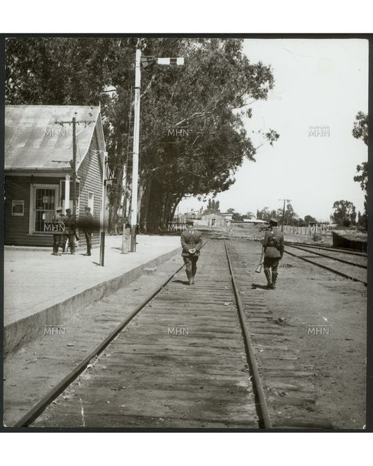 Resguardo Policial Estacion Ferrocarriles  Años 60