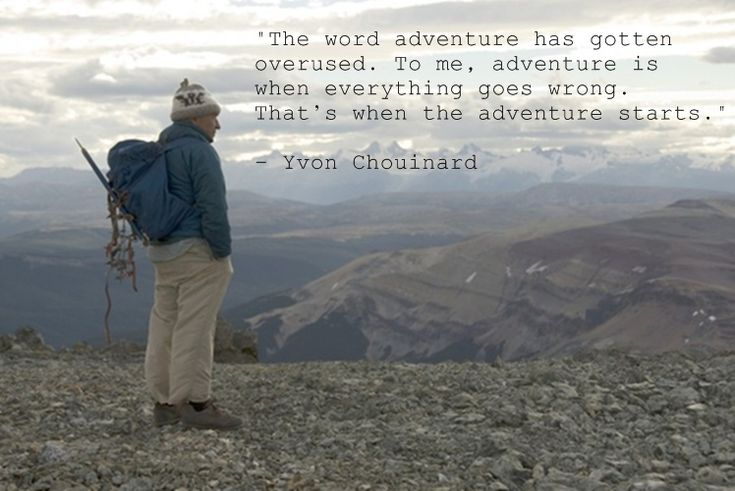 yvon chouinard quote from 180 south