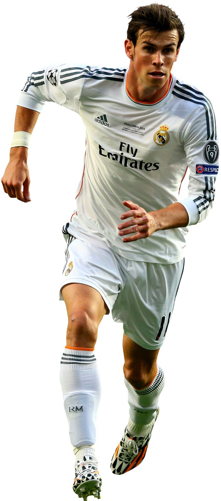 Gareth Bale of Real Madrid in the 2014 Champions League