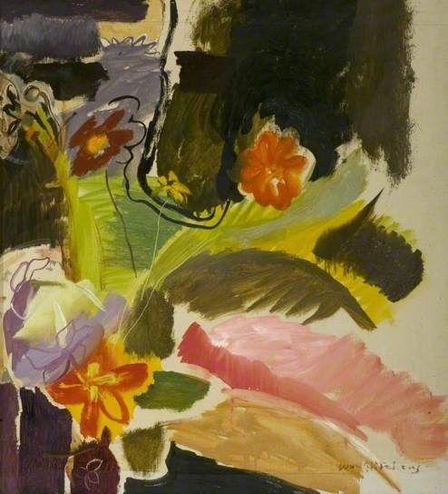 Flower Piece, Ivon Hitchens