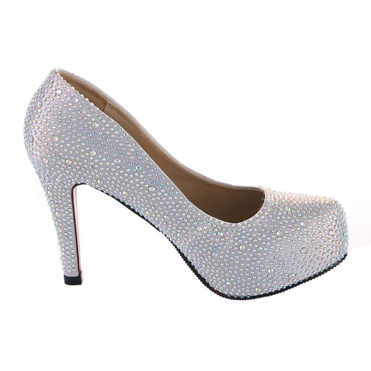 Annie Shoes Womens Engage Jeweled CHAMPAGNE (2 inch) heels Size 8.5 MEDIUM