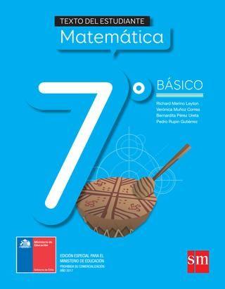 Matemática 7º básico texto del estudiante
