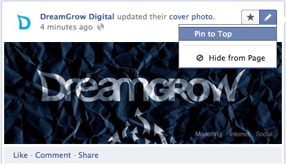 A good blogpost from DreamGlow Digital about how to get the new Facebook Timeline for pages, and what to do next.