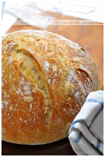 """Salseando en la cocina: Mi """"Pa de pagès"""", pan de hogaza para dummies"""