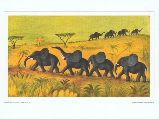 Elefanter på vej » Hans Scherfig » For børn & unge &r