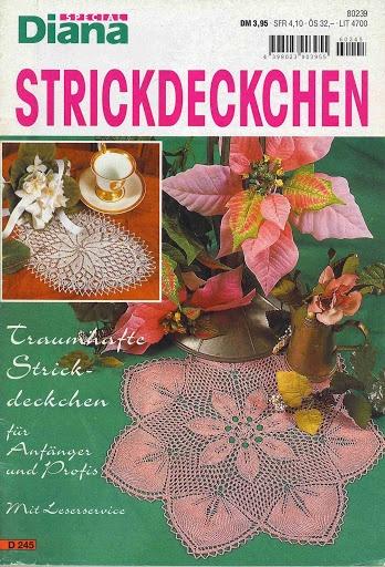 Diana Special - D 245 Strickdeckchen – Alex Gold – Picasa tīmekļa albumi