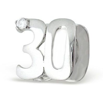 30th Birthday Charms For Bracelets