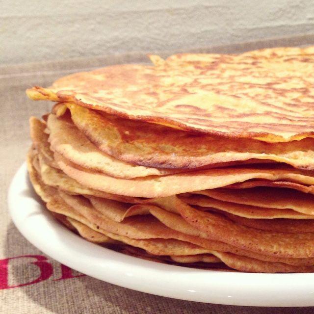 """""""Fuldkorns Majs-Tortillas"""" (glutenfri, laktosefri"""