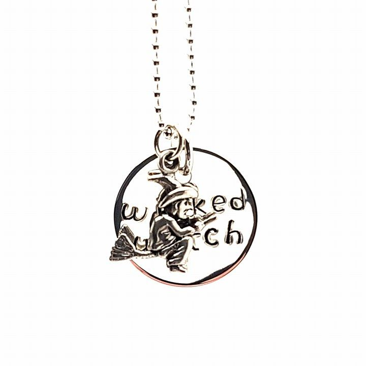 Witchy woman...broomstick and lots of fun with this statement piece - all sterling silver.