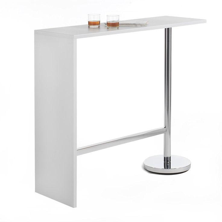 Table de bar cuisine acheter des zincs et des tabourets for Acheter meuble bar