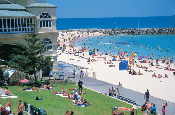 A stunning day - Cottesloe Beach