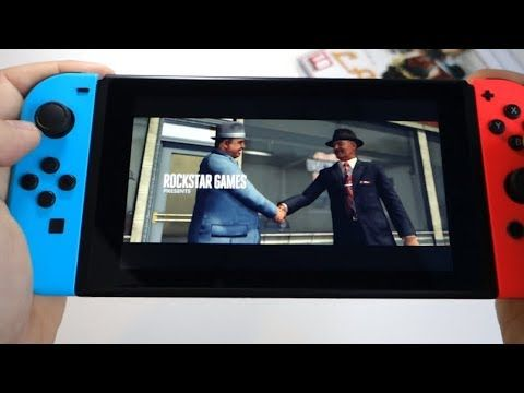 L.A. Noire - Nintendo Switch - presentation, unboxing game card and gameplay - Andrasi.ro