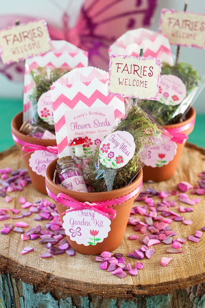 Fair garden kit. Great homemade gift idea for little green fingers.