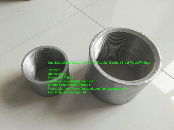 hot dipped galvanized pipe coupling for steel pipe erw astm gra astm carbon steel pipe nipple with npt threaded coupling