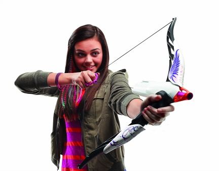 Nerf Rebelle Bow set.  LOVE IT!  My girls are loving it and having so much fun with it!  Great for righties and lefties!!!