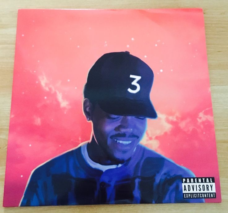 Chance The Rapper Coloring Book Vinyl Coloring book