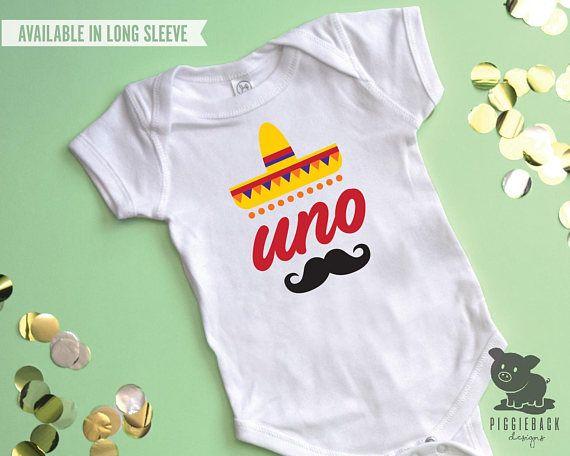 b5c14904a First Fiesta Onesie Uno Birthday Shirt Boy Fiesta Outfit | Henry ...