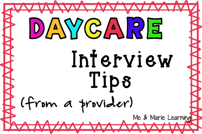 On-Site Visit: Interview Questions, and Checklist for a Family Home Daycare
