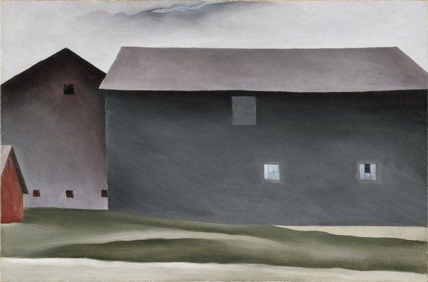 georgia o'keeffe barns - Google Search